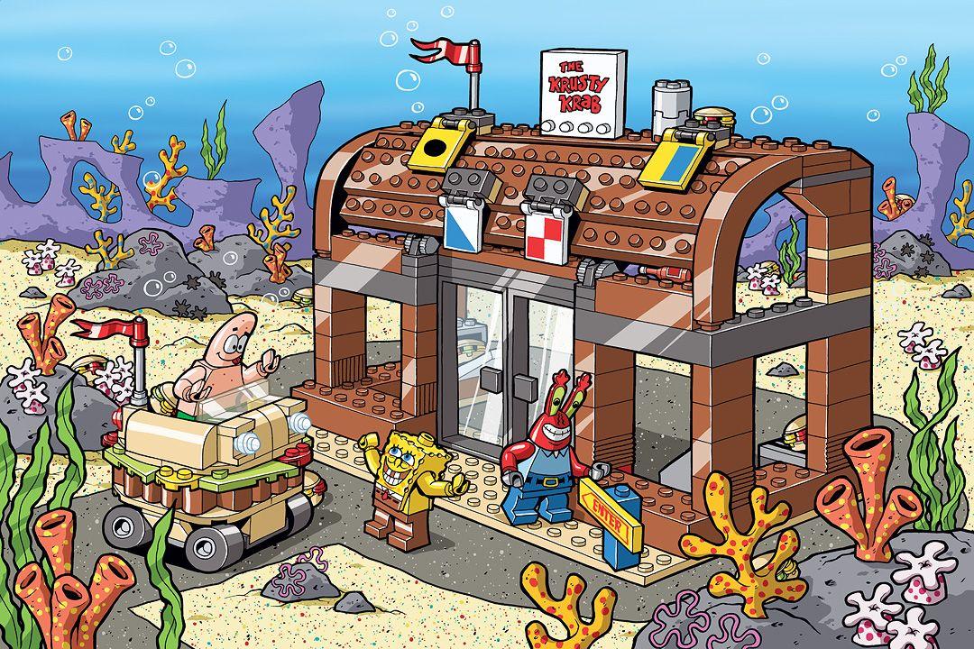 Download Lego Spongebob Game  Pictures