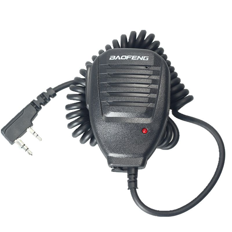 Handheld 2-Way Radio Speaker Microphone Walkie Talkie for BAOFENG UV-5R BF-888S