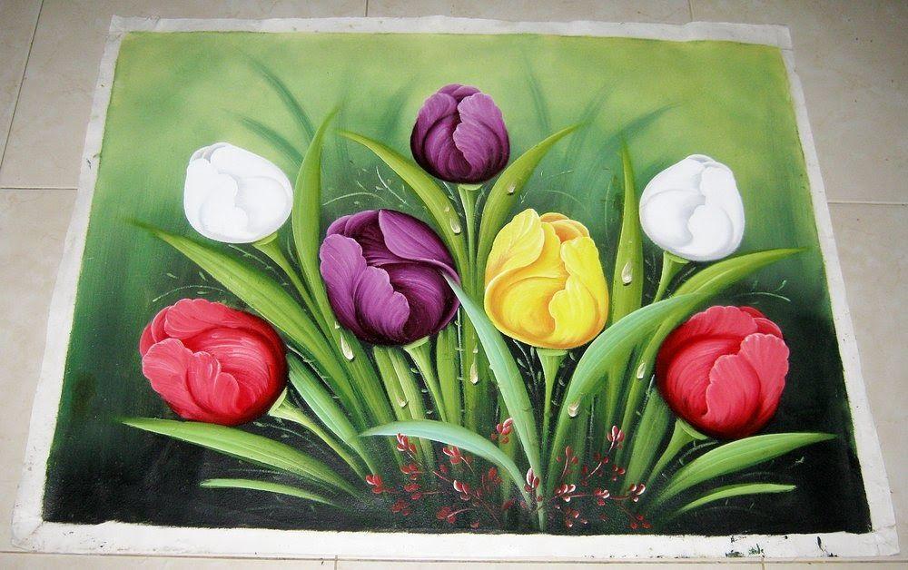 33 Lukisan Bunga Yg Mudah Ditiru Baru 30 Lukisan Bunga Tulip Yang Mudah Ditiru Download Contoh Lukisan Pemandangan Yang M Di 2020 Lukisan Bunga Bunga Bunga Tulip