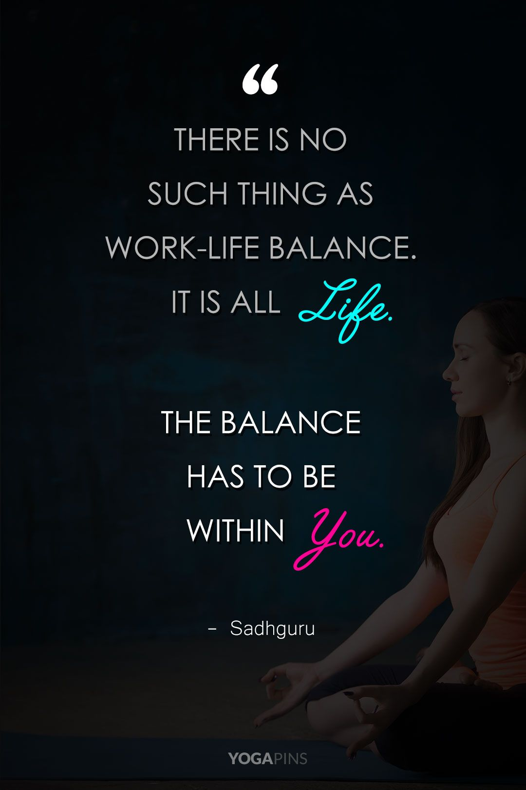 There Is No Such Thing As Work Life Balance It Is All Life The Balance Has To Be W Work Life Balance Quotes Life Balance Quotes Work Life Balance Quotes Funny