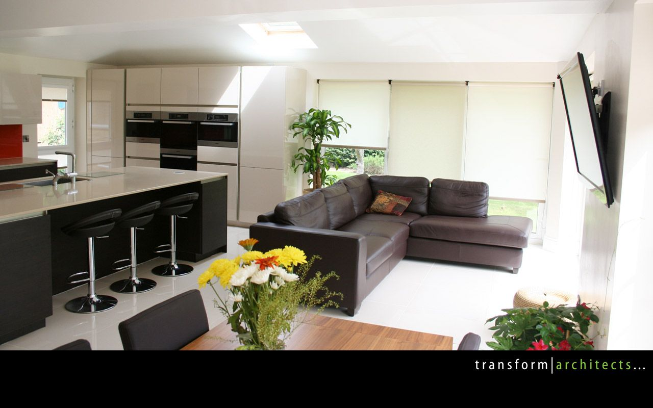 view of the large open plan kitchen extension 2 | house extension