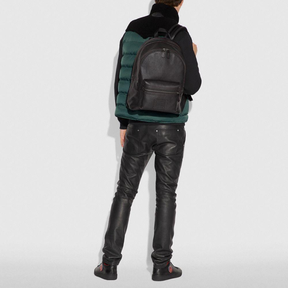 d348d89e2a Coach Academy Backpack - Black Black Copper Finish