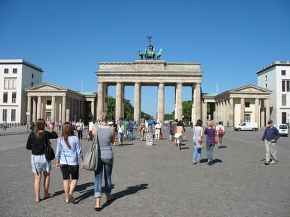 Brandenburg Gate Brandenburger Tor Berlin Brandenburg Brandenburg