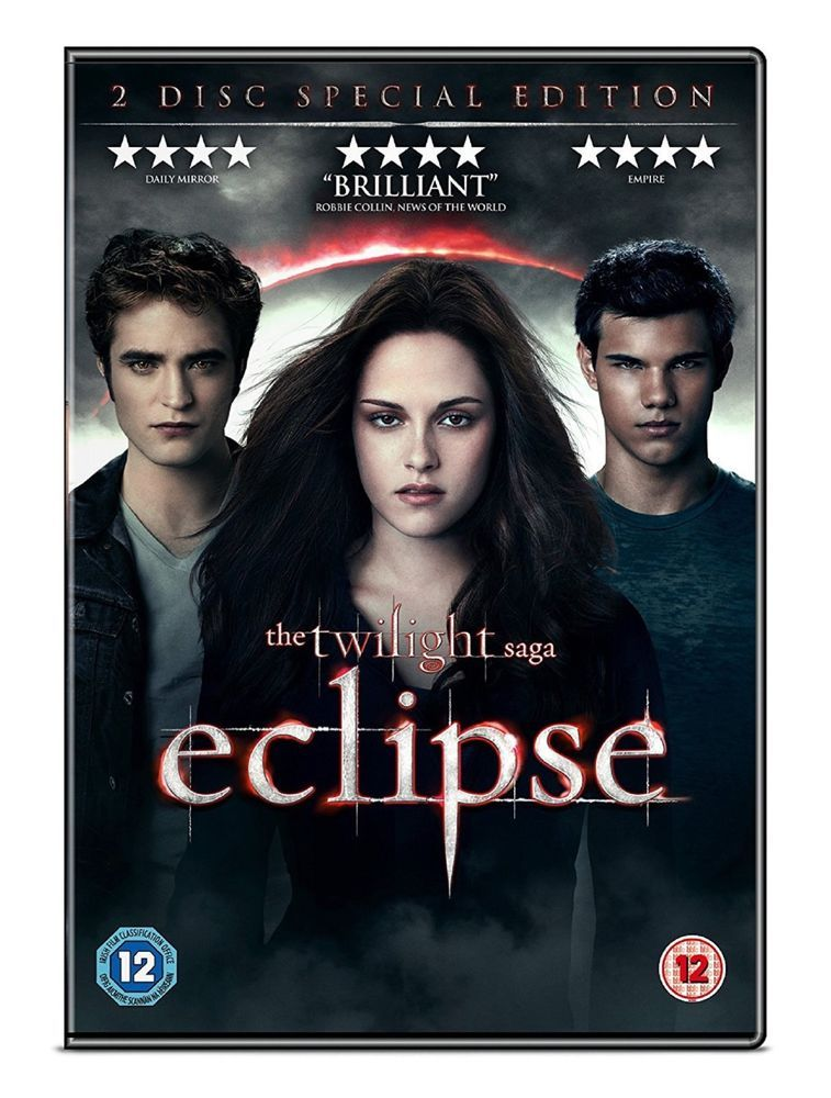 Twilight Saga Eclipse Dvd 2 Disc Set The Twilight Saga Eclipse