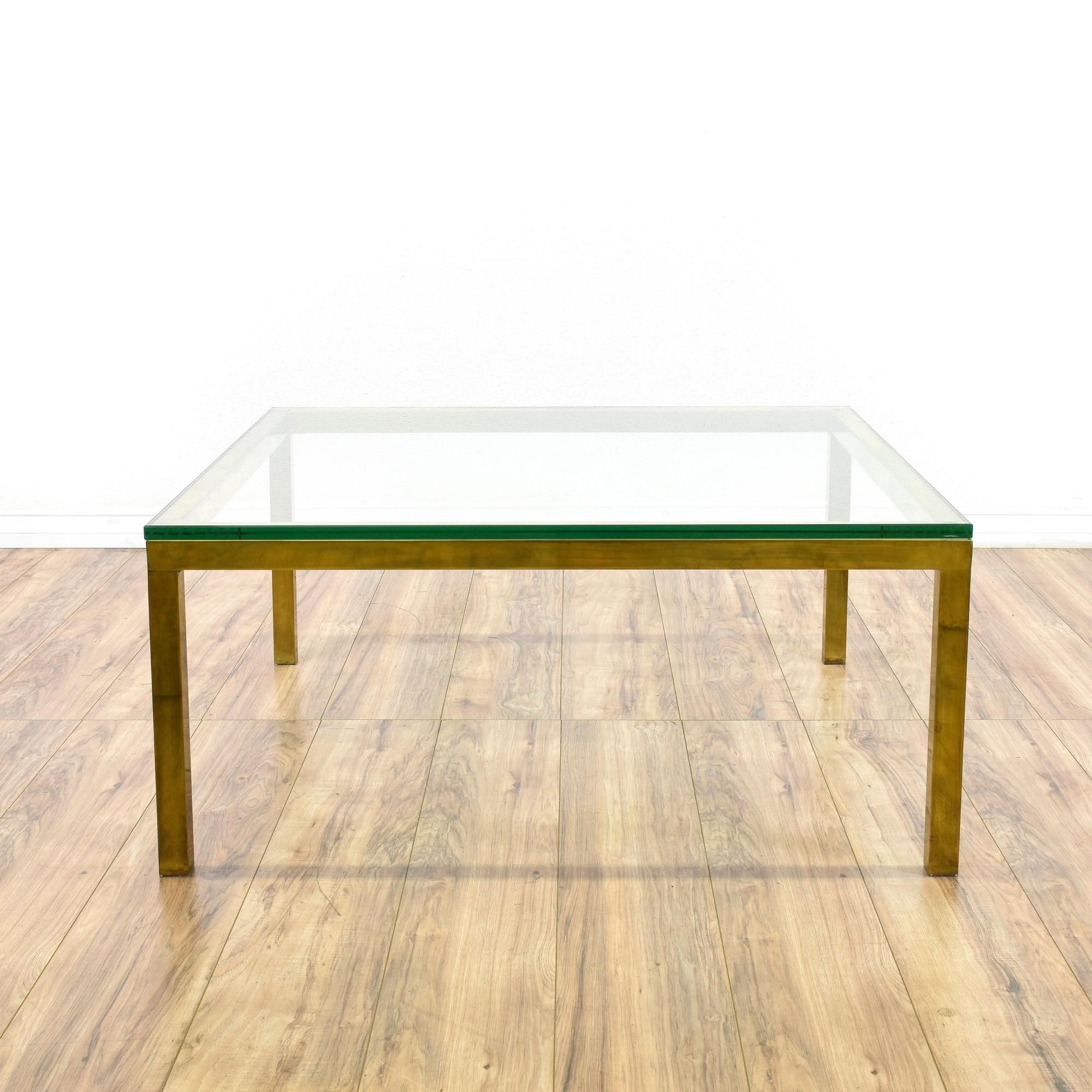 This Coffee Table Is Featured In A Solid Steel With