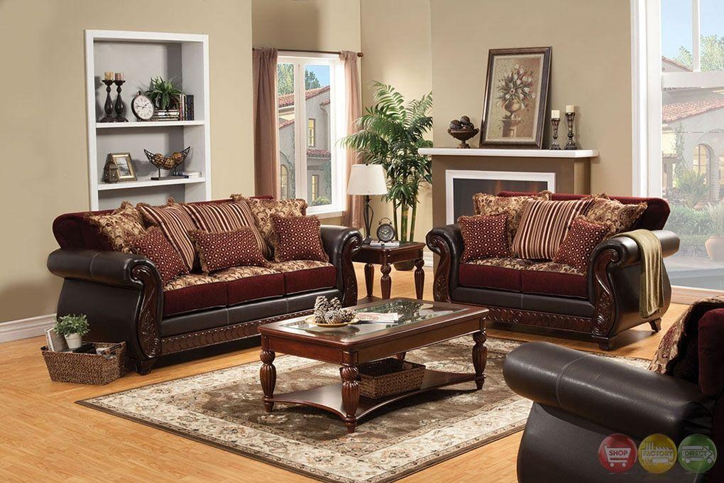 Wohnzimmer Möbel Set Braun #braun #mobel #wohnzimmer