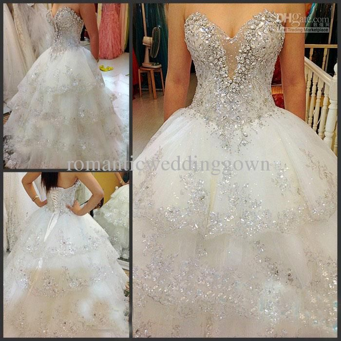 mermaid wedding dresses with crystals - Google Search | Wedding ...