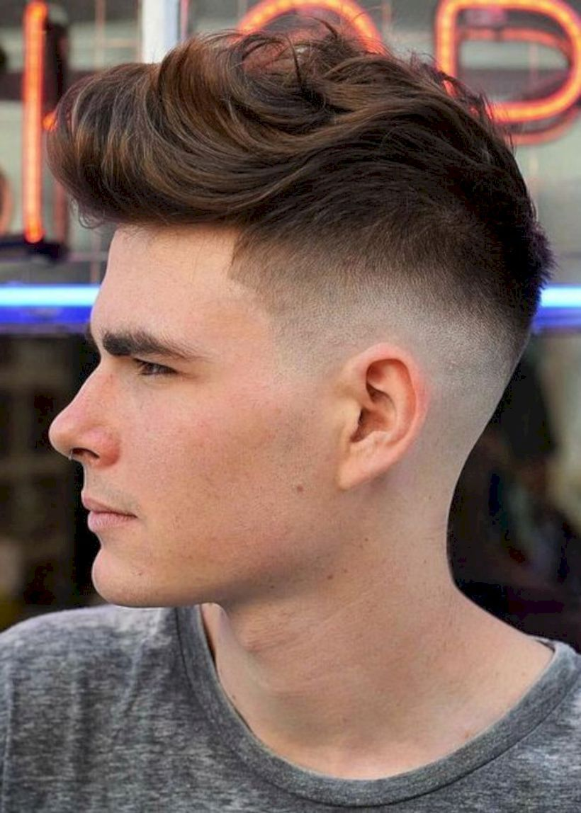 Fade haircut styles for white men  new hairstyles for men in   haircuts