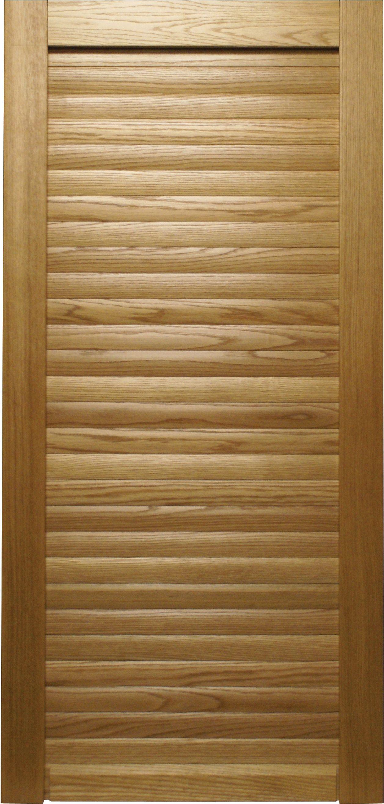 Wooden Roller Shutter Cabinet Doors