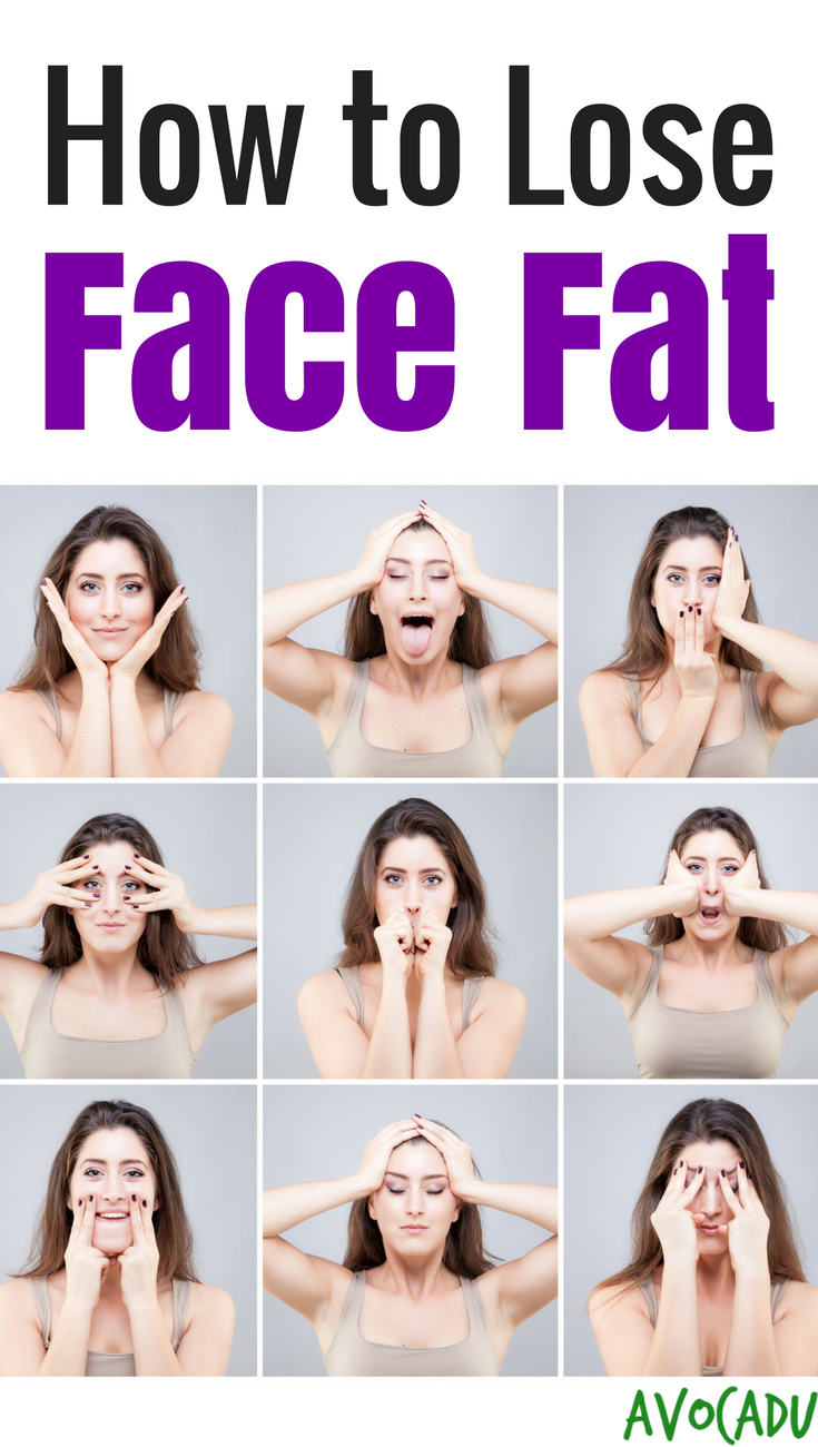 Fastest way to lose weight in your face