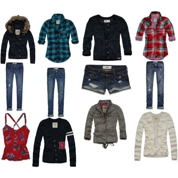 hollister clothes-i-think-yes | My kind of style ...