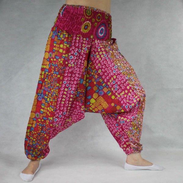083cc9ab5913 Turecké kalhoty - Aladinky - Haremky - Pumpy Orientalni KR02