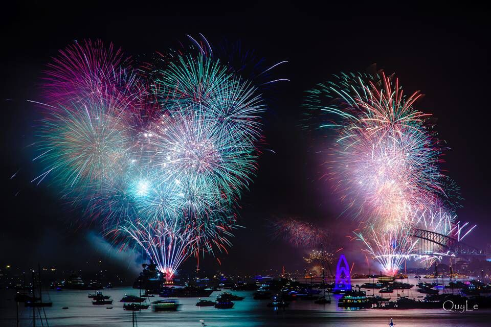 Sydney New Year Eve Fireworks 2015. New years eve