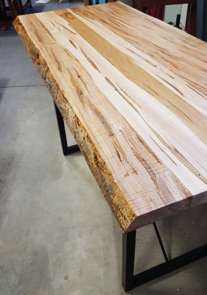 Maple Live Edge Dining Table Inspiration For Your Dining Room Tags