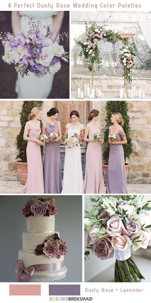 8 Perfect Dusty Rose Wedding Color Palettes for 2019  - Wedding Western - #Color #Dusty #Palettes #perfect #Rosé #Wedding #Western #dustyrosewedding