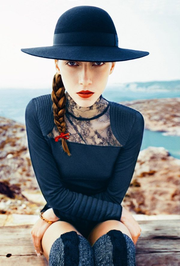 Model: Alana Zimmer | Photographer: Txema Yeste for Marie Claire Italia August 2010