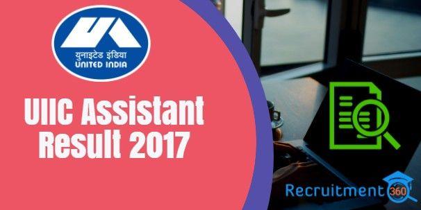 Uiic Result 2018 United India Insurance Ao Prelims Cutoff The