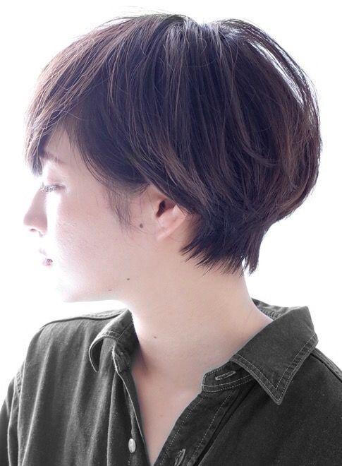30代 40代 大人ショート ナチュラル 人気 秋冬 髪型 パーマ ヘア
