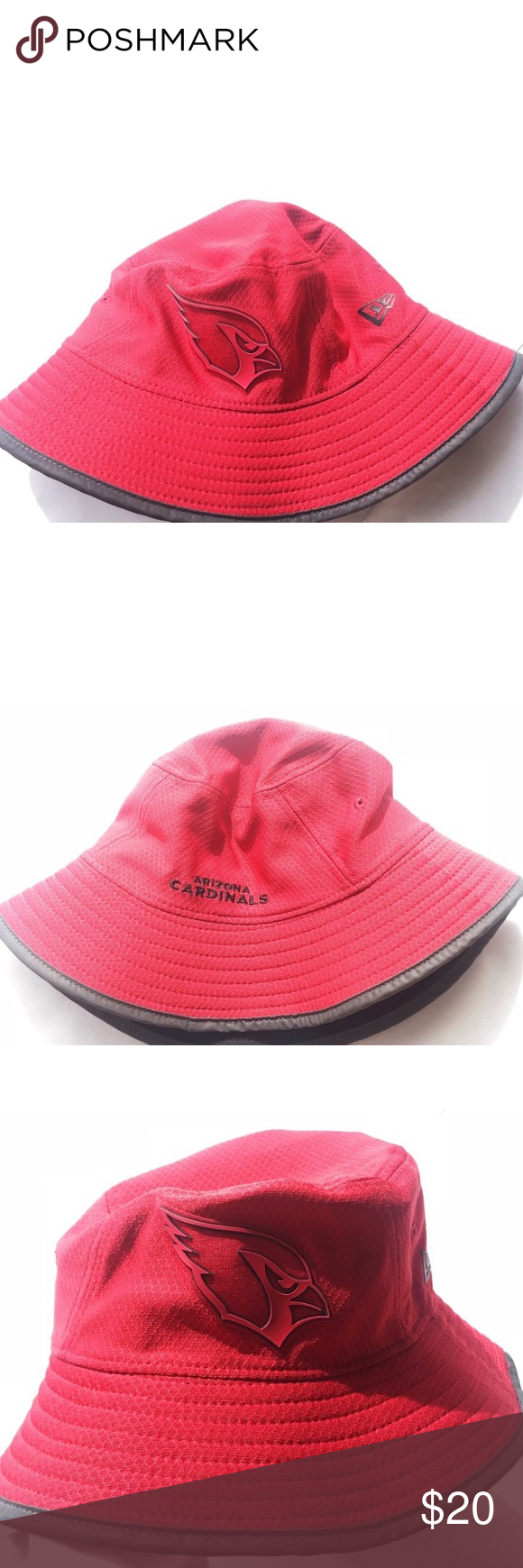 42ad973cda6 Arizona Cardinals Football NFL Bucket Hat - Arizona Cardinals NFL Red Bucket  Hat - Red bucket