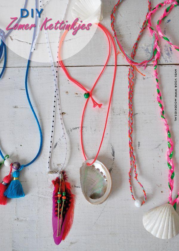 Spiksplinternieuw DIY zomer kettinkjes (met afbeeldingen) | Ambachtelijke sieraden LB-06