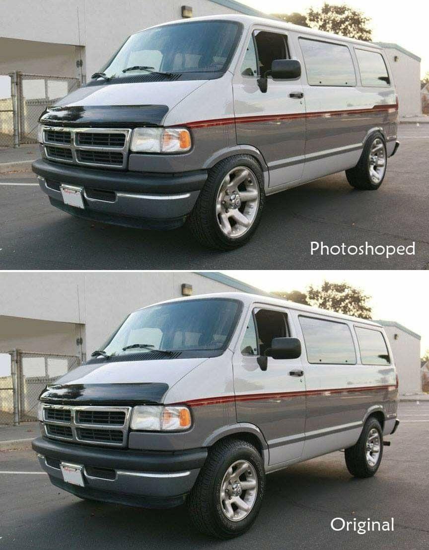 Photoshopped Dodge Van Custom Vans Van