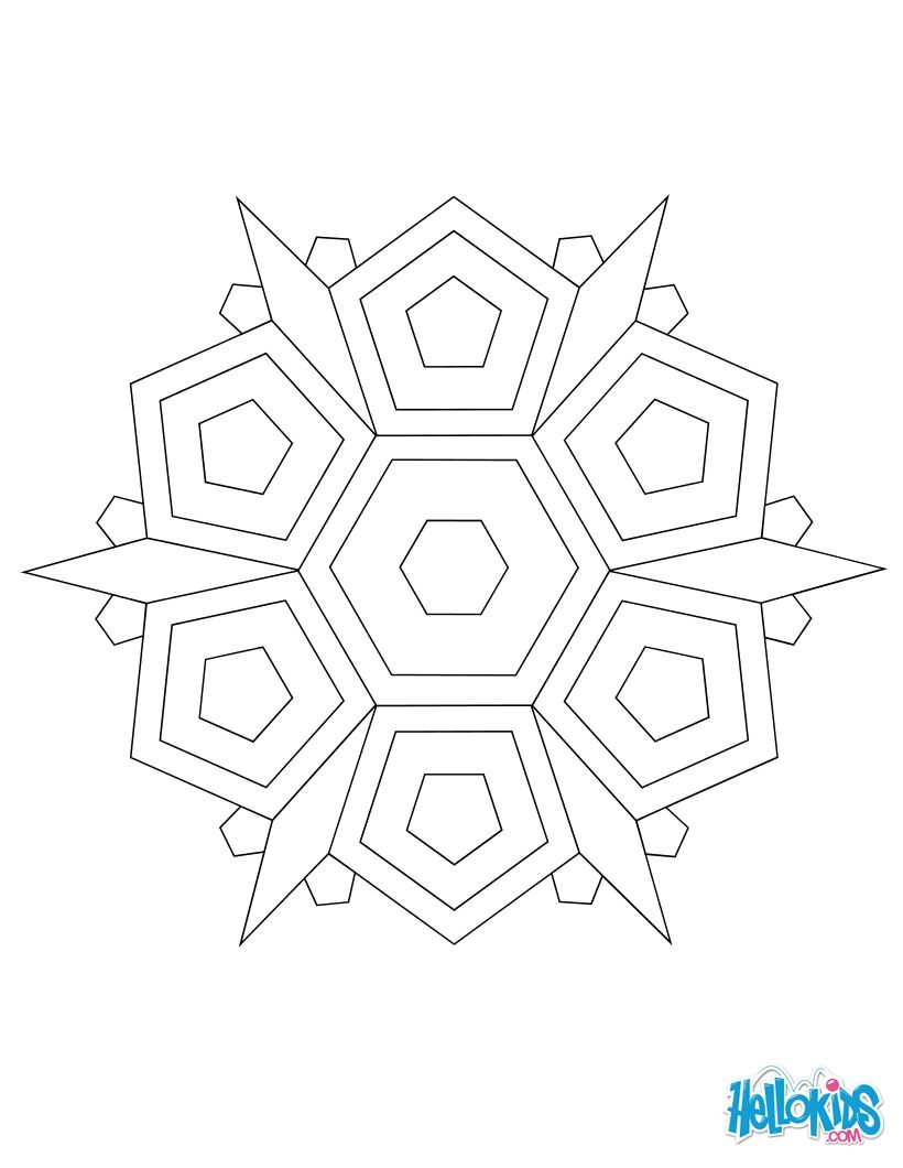 Discover this simple mandala for beginner. A beautiful coloring page ...
