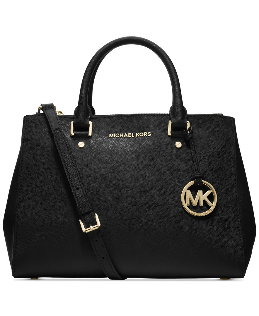 272afea965dd MICHAEL Michael Kors Sutton Medium Satchel - Michael Kors Handbags - Handbags  & Accessories - Macy's IN DEEP PINK $328