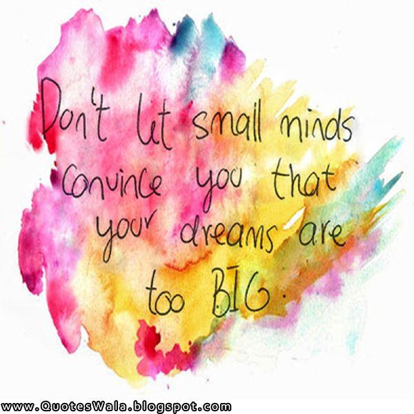 Short Dream Quotes Tumblr