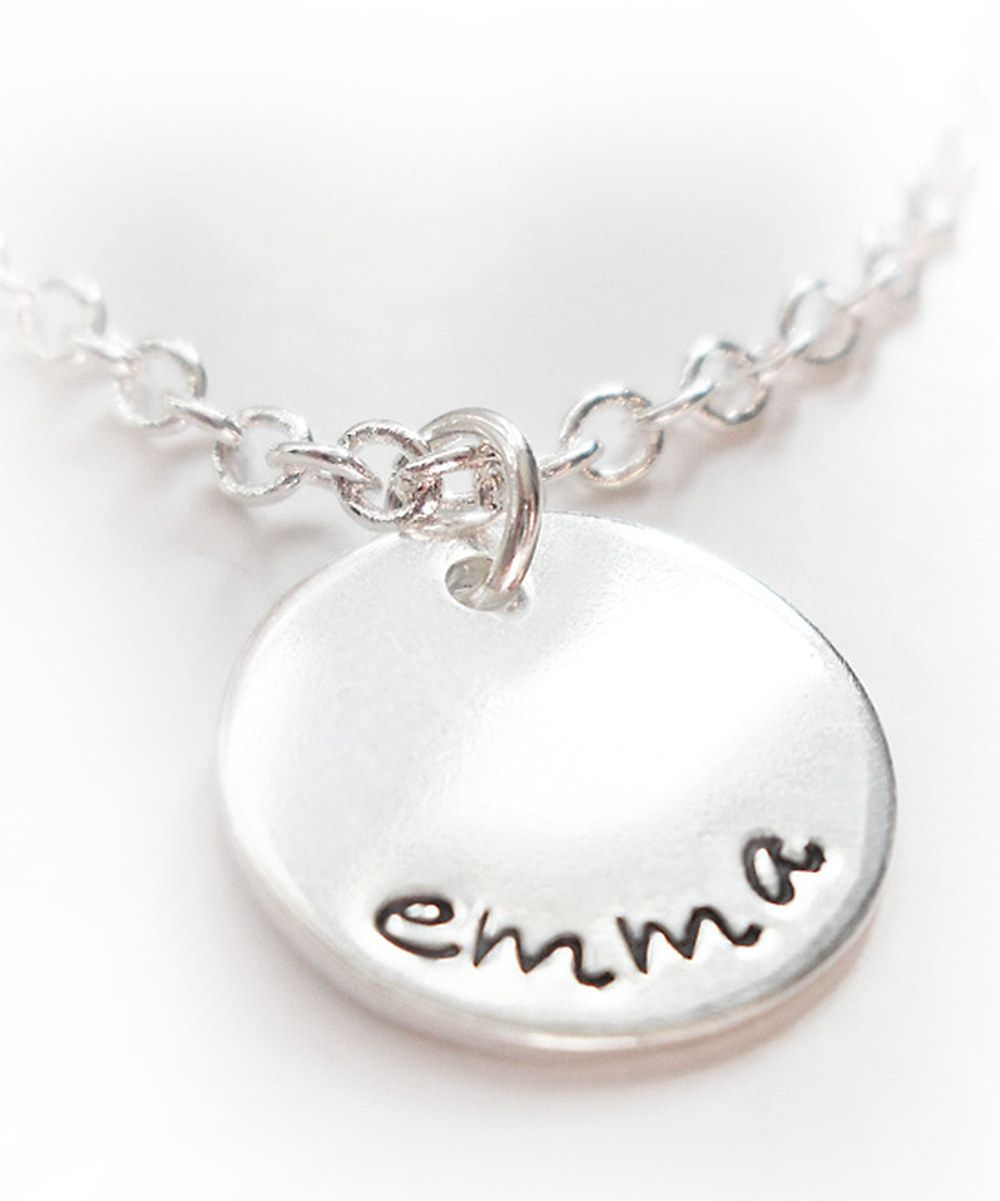 Take a look at this sterling silver personalized charm necklace i