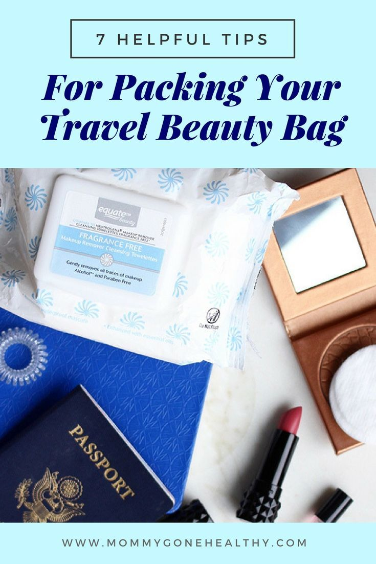 Tips for Packing Your Travel Beauty Bag (With images