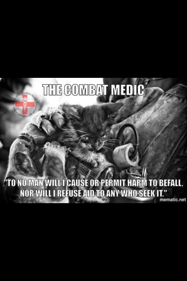 The Combat Medic Army Medic Combat Medic Army Cats