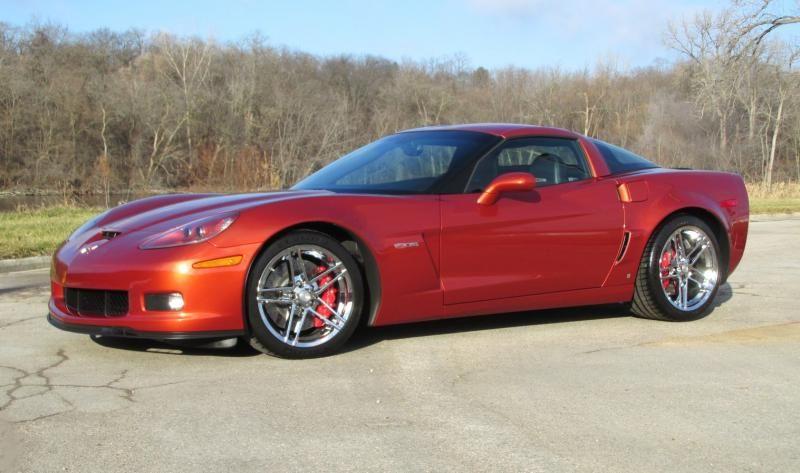 2006 Z06 Orange 2lz Only 11k Miles 2006 Corvette Hardtop For Sale Wisconsin Corvette 2006 Corvette Used Corvette