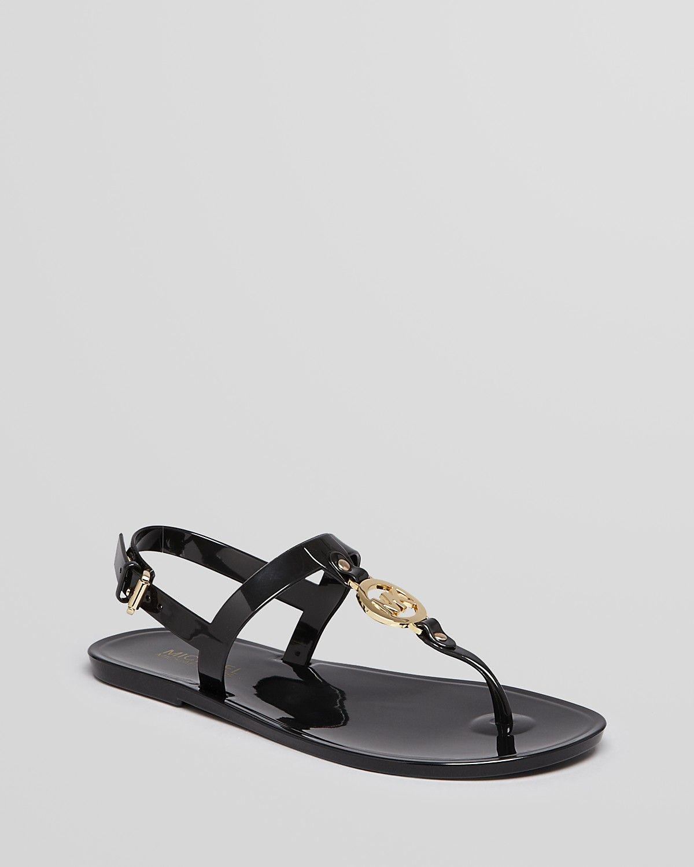 3bf899b6f2a0c9 MICHAEL Michael Kors Jelly Flat Thong Sandals - MK Sondra ...
