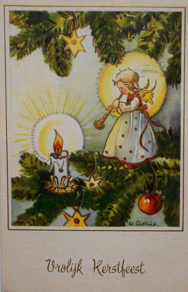 Weihnachtsbilder Tannenzweig.Ursula Ortlieb Kleiner Engel Sitzt Auf Tannenzweig Neben Kerze