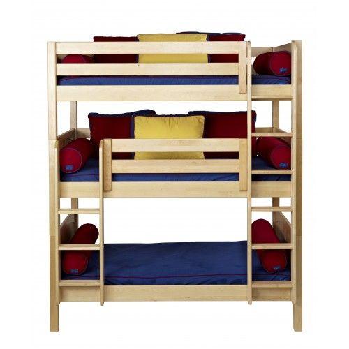 ... Modular Beds - Maxtrix Furniture Systems » Maxtrix Triple Bunk Beds