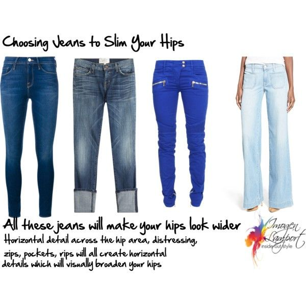 How to Choose Jeans Styles to Flatter Your Hips ...