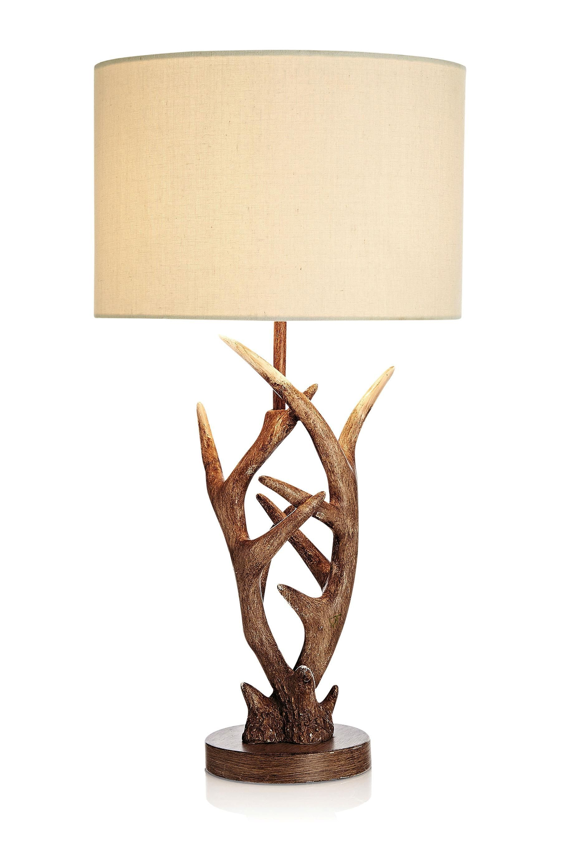 Buy antler natural table lamp from the next uk online shop home buy antler natural table lamp from the next uk online shop aloadofball Image collections