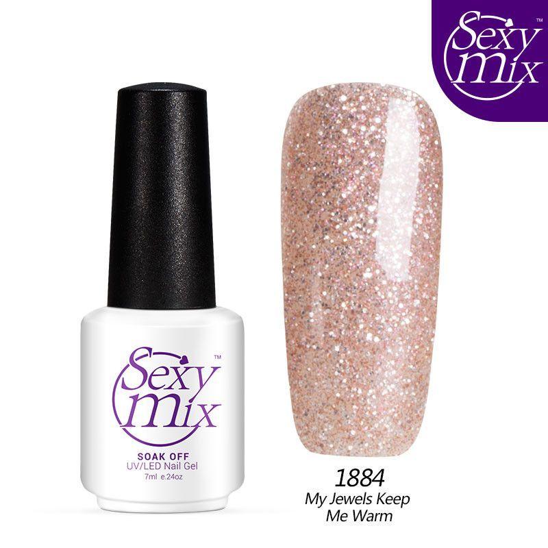 Sexy mix 2016 Newest UV Nail Gel Polish Blue Color Gel Nail Polish 7ml