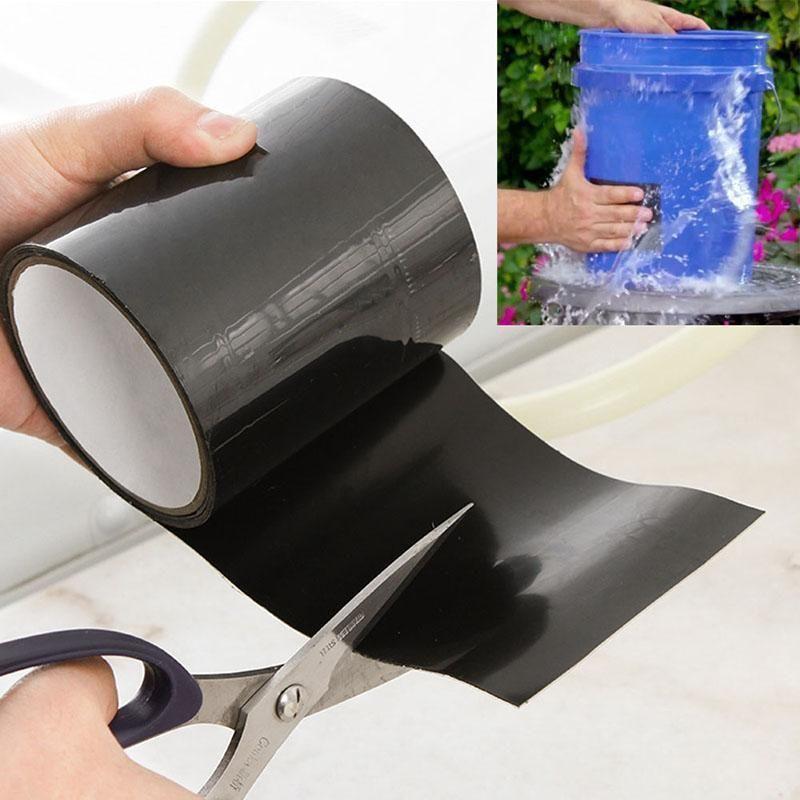 Waterproof Stop Leaks Seal Repair Tape Cool Gadgets Tools In 2020 Waterproof Tape Repair Tape Cool Gadgets