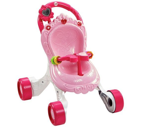 Buy Fisher Price Princess Musical Baby Walker Baby Walkers Argos Fisher Price Dolls Prams Baby Walker