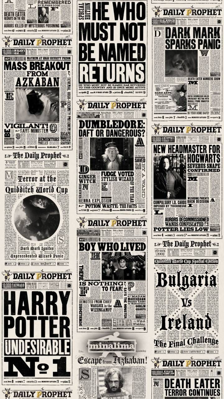 """Harry Potter Paper wallpaper by Thecreator20 - 1f2f - Free on ZEDGEâ""""¢"""