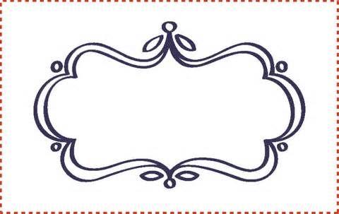 Cute Label Templates | Houseideas.top | Papeles decorativos ...