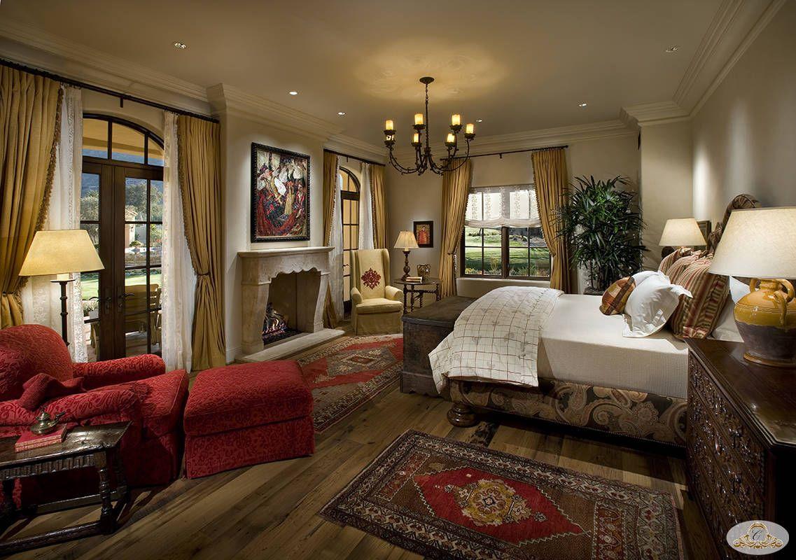 Farmhouse Bedroom | Hacienda farm House Master Bedroom design ...