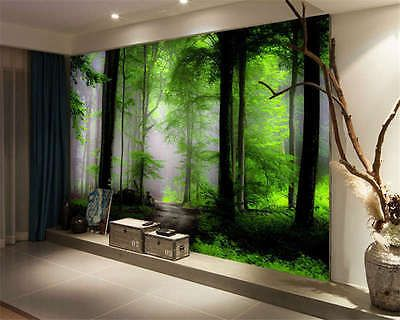 Captivating Dream Mysterious Forest Full Wall Mural Photo Wallpaper Print Kids Home 3D  Decal Part 11