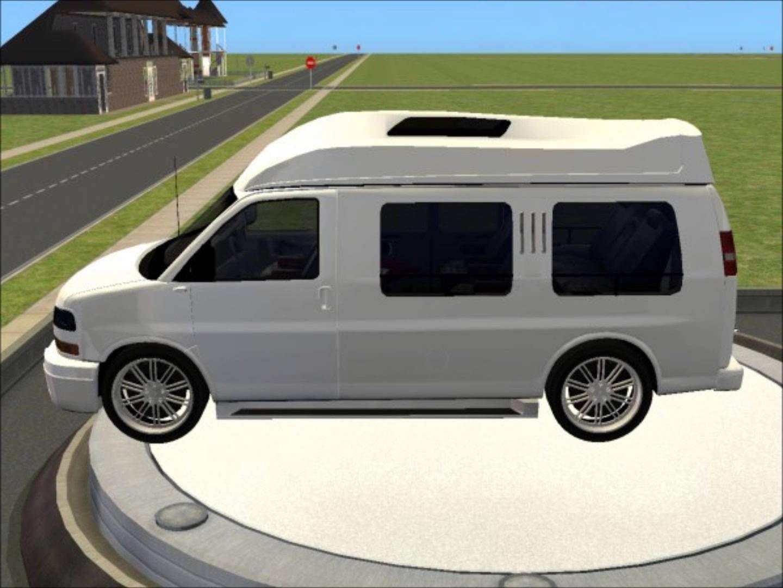 Sims 2 car conversion by vovillia corp 2006 gmc savana safari
