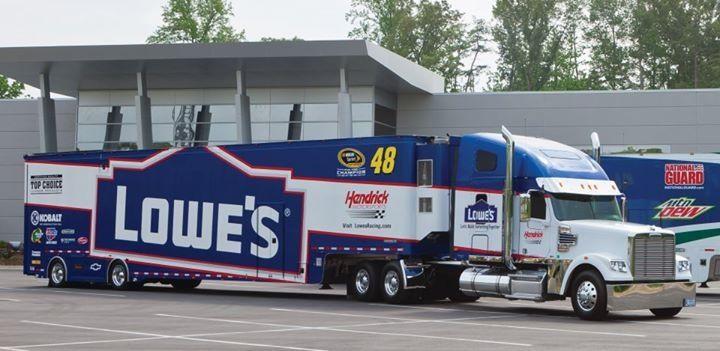 Lowes Freightliner Nascar