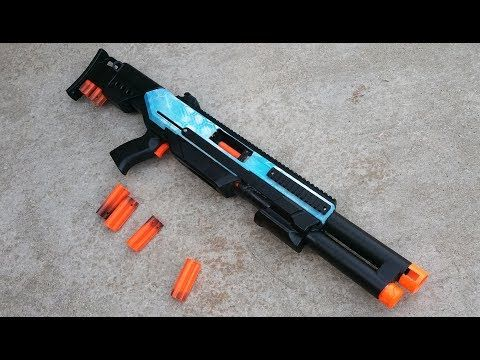 Break Action Hammershot Overview Youtube Favorites Nerf Mod