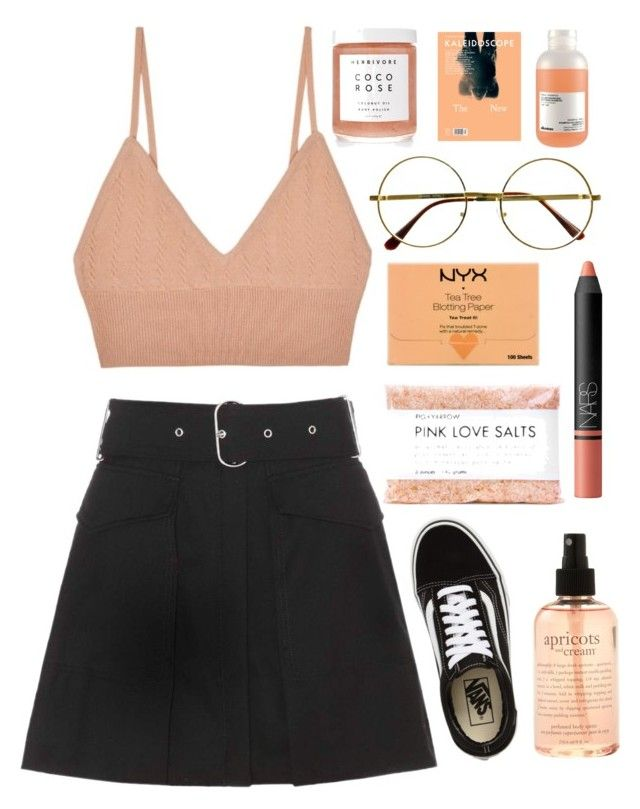 """LO V E FO O L"" by lilyyy24 ❤ liked on Polyvore featuring Acne Studios, For Love & Lemons, Herbivore, Retrò, Vans, philosophy, NYX, Fig+Yarrow, NARS Cosmetics and Davines"