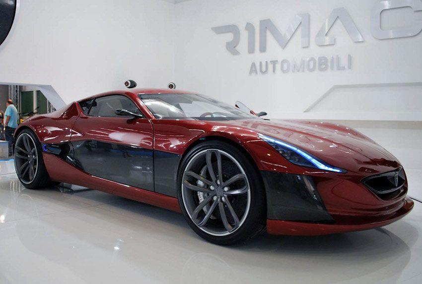 Gizmo 190 Mph Electric Car 0 60 Mph In 2 8 Seconds Rimac Concept One Electric Supercar 1088 Bhp Super Cars Electric Sports Car Hydrogen Car