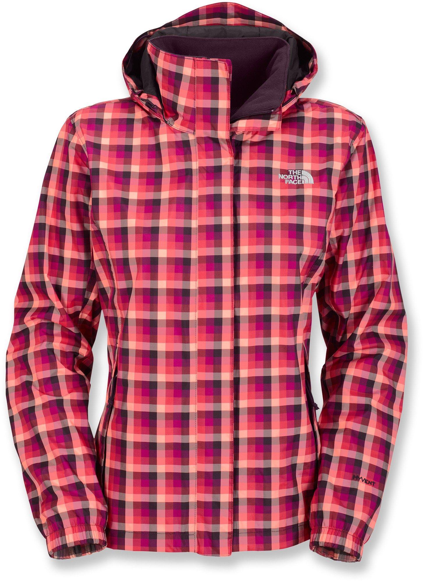 The North Face Novelty Resolve Rain Jacket Women S Free Shipping At Rei Com Rain Jacket Women Shop Womens Jackets Rain Jacket [ 2000 x 1454 Pixel ]